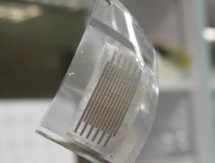 Flexible Mikro-Supercaps. Bild: Xiaodong Chen