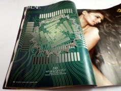 Marie Claire: Zeitschrift für Platinen-Design (und Mode)