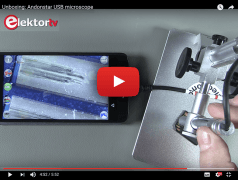 Unboxing: USB-Mikroskop Andonstar V160