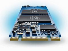 M2-Optane mit 3D-Xpoint-Technik. Bild: Intel