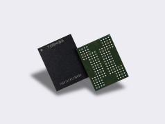 Flash-Speicher-Chips. Bild: Toshiba.