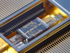 Rekord-On-Chip-Laser. Bild: Lionix.