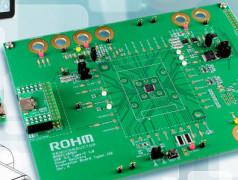 Entwicklungsboard BM92AxxMWV-EVK-01. Bild: ROHM.