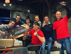 Das Siegerteam (Foto: Universität Twente).