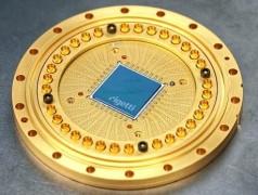 19-Qubit-Prozessor. Bild:Rigetti Computing.