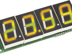 Farbenspiel: Die RGBDigit Clock aus unserem Labor.