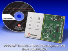Claviers à touches inductives : kit de développement