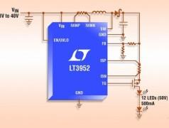 Circuit de commande PWM de LED (60 V /4 A)