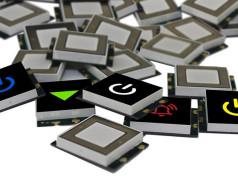 Afficheurs tactiles à LED ultraplats