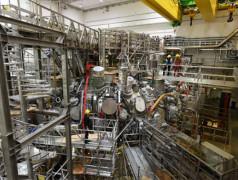 Le Wendelstein 7-X (W7X), le réacteur de fusion nucléaire des chercheurs de l'Institut Max-Planck.