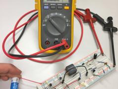 5 V uit een lege batterij