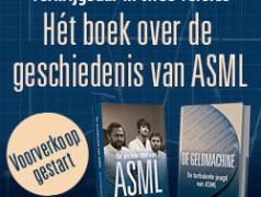 Boek over geschiedenis van ASML