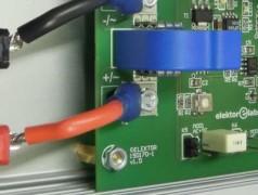 Potentiaalvrije stroommeetprobe voor oscilloscopen