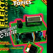 Flashing brooch optoelectronics in pocket format