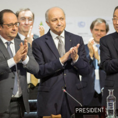 Draft Paris Agreement: 1.5 °C,  Long-Term Goal and  Loss & Damage