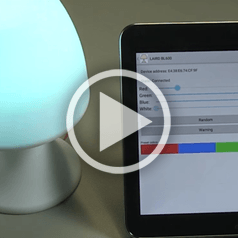 Lumina – an IoT RGBW lamp controlled over Bluetooth 4 BLE