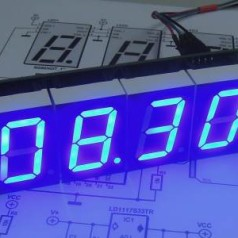 RGBdigit IoT clock - the ultimate 7-segment display clock?
