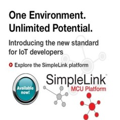 Texas Instruments' new SimpleLink platform for microcontrollers