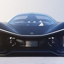 @CES: Faraday Future 1 Khp electric supercar