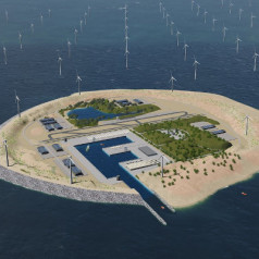 Artificial islands to boost off-shore wind energy