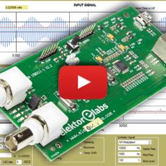 Elektor's Network Connected Signal Analyzer
