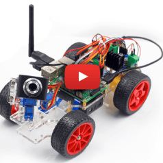 Smart Video Car Kit for Raspberry Pi