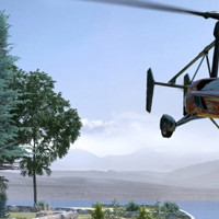 Is that a car or a helicopter?