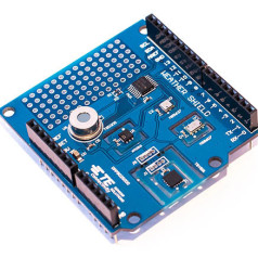 MEAS: five weather sensors on one Arduino shield