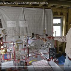 1-Khour build Breakfast Machine, Wallace & Gromit style
