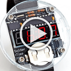 Elektor.TV   It's never too late for the Solder:Time Watch Kit