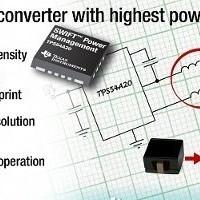 Ultra-small 10 A converter