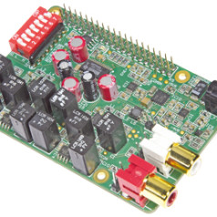 Audio-DAC für Raspberry Pi