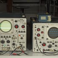 Die Zweistrahl-Oszilloskope Tektronix 556 und 565