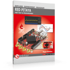Weltweit erstes Buch zu Red Pitaya jetzt von Elektor