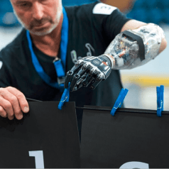 Wettkampf der bionischen Prothesen