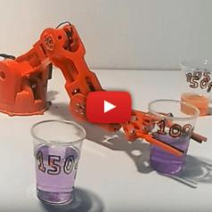 Roboter-Arm-Kit Arduino Braccio
