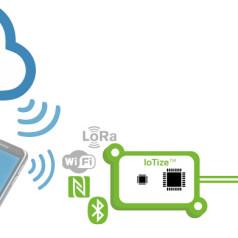 Gateway-Platinen machen Geräte internetfähig (Bild: Keolabs, www.iotize.com).