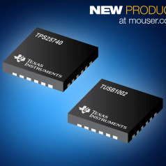 Mouser Now Stocking USB-PD Source Controllers and USB 3.1 10Gbps Linear Redriver from TI