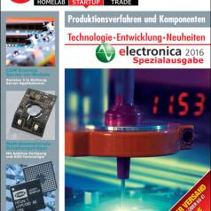 Kostenloser Download: Messeausgabe Elektor Business Magazine für die electronica 2016