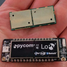 Modules IoT sans fil de Pycom: Sigfox, LoRa...