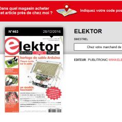 Où trouver Elektor près de chez vous ?