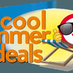 """Het wordt een hete zomer met de """"Cool Summer Deals"""""""