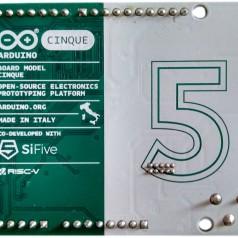 Cinque, de RISCy Arduino