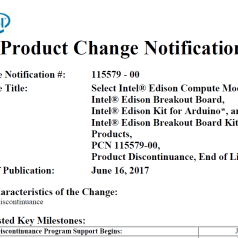 Een late voorjaarsschoonmaak bij Intel: Galileo, Edison, Joule & Recon Jet verdwijnen