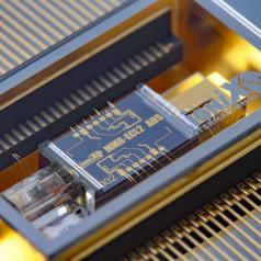 Record On-Chip-Laser. Foto: Lionix.