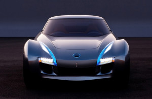 Nissan Launches Electric Sports Car