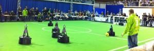 Dutch Autonomous Robots Win Soccer Tournament