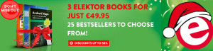 Santa Claus' No. 1 Recommendation: Three Elektor Books For Just € 49.95