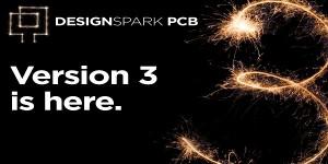 DesignSpark PCB design software upgraded to version 3