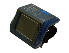 Wristwatch computer with 3.5 inch TFT screen
